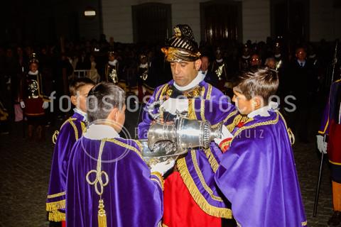 VIERNES SANTO MADRUGADA - Cofradía de Soldados Romanos y Penitentes Sayones de Nuestro Padre Jesús Nazareno